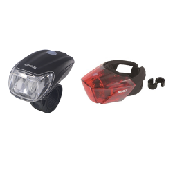 ET-3175-AD+ET-3207-US Combo Bicycle Light Set
