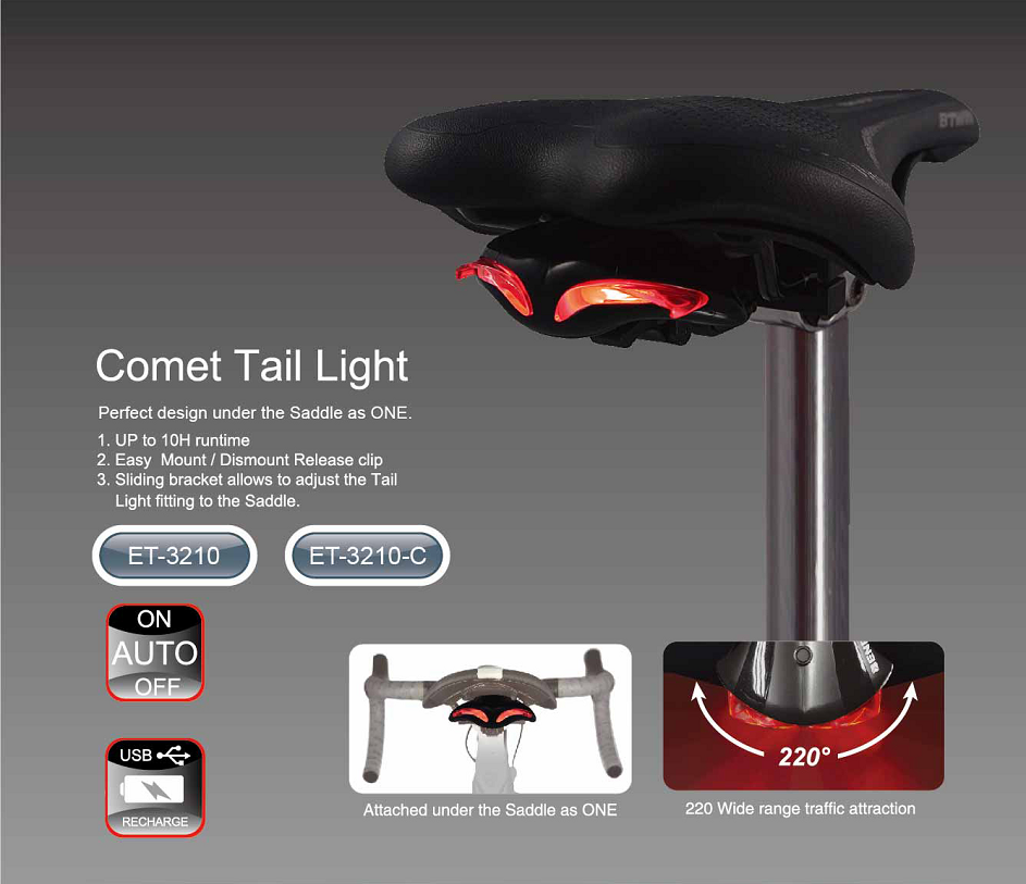 ET-3210-C Comet Tail Light
