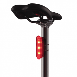 ET-3230 K-Mark Modern Bike Rear Light (By USB Rech. Batt.)